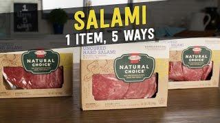 Salami: 1 Item, 5 Ways