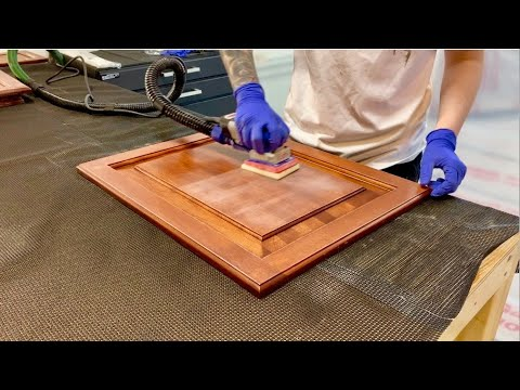 Step 2: Patching and Sanding | Painting Kitchen Cabinets