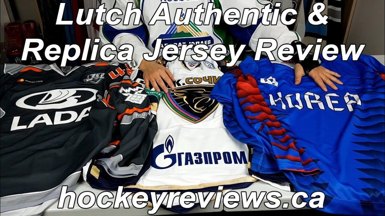 Lutch KHL Authentic   Korea Replica Hockey Jersey initial Review ... 405e093c61a