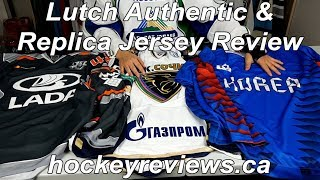 Lutch KHL Authentic & Korea Replica Hockey Jersey initial Review