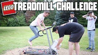 Lego Treadmill Challenge (Running On Lego) *Blood Alert* | WheresMyChallenge