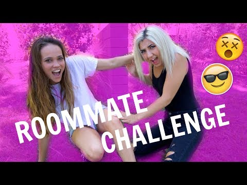 EXTREME ROOMMATE CHALLENGE (ROOMMATE TAG) ▶7:07