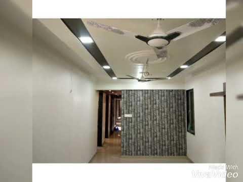 Best Pop False Ceiling Design With 2 Fan Points Youtube