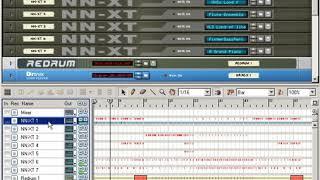13. Teknolojisi tarafından Sebebi (Fransızca eğitimi)Yeniden Davul, NN-XT, Dr. Rex ile bir müzik yaratmak