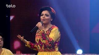 آهنگ تنهایی از عالیه انصاری در برنامه زیر چترعید / Tanhai Song from Alia Ansari