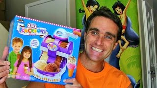 DIY 2 in 1 Ice Cream Maker Unboxing! || Toy Reviews || Konas2002