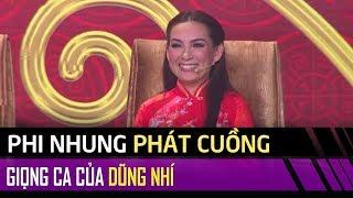 Phi Nhung 'phát cuồng' vì giọng ca của Dũng Nhí