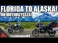 Florida to ALASKA Motorcycle Trip! - LosAmigosADV! - BMW GS