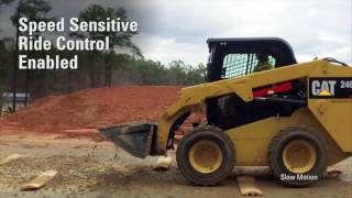 Speed Sensitive Ride Control for Cat® D/D2 Series Skid Steer, Multi Terrain, Compact Track Loaders