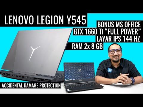 """Laptop """"Serba Bisa"""", Lengkap, dengan Performa Kencang - Review Lenovo Legion Y545 (Bahasa Indonesia)"""