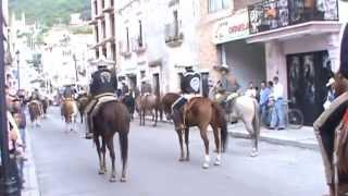 2 Fiestas Yahualica Jal  2014 Desfile dia del Charro