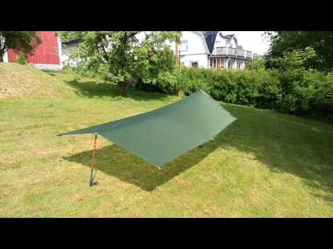 Exped Solo Tarp first pitch