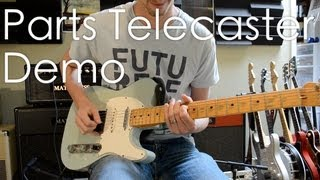 Parts Telecaster with Seymour Duncan Antiquity pickups demo into Matchless Clubman