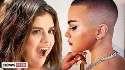 Did Selena Gomez SHAVE Her Head BALD?!