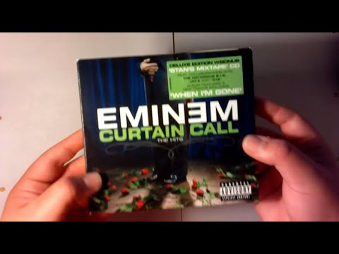 Eminem - Curtain Call The Hits (Deluxe) (unboxing)