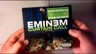 Eminem Curtain Call The Hits Deluxe Unboxing