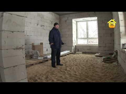 видео: Типовой дом из газоблоков. Проблемы и решения // forumhouse