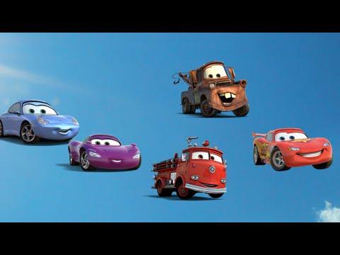 Cars Finger Family Nursery Rhymes - YouTube