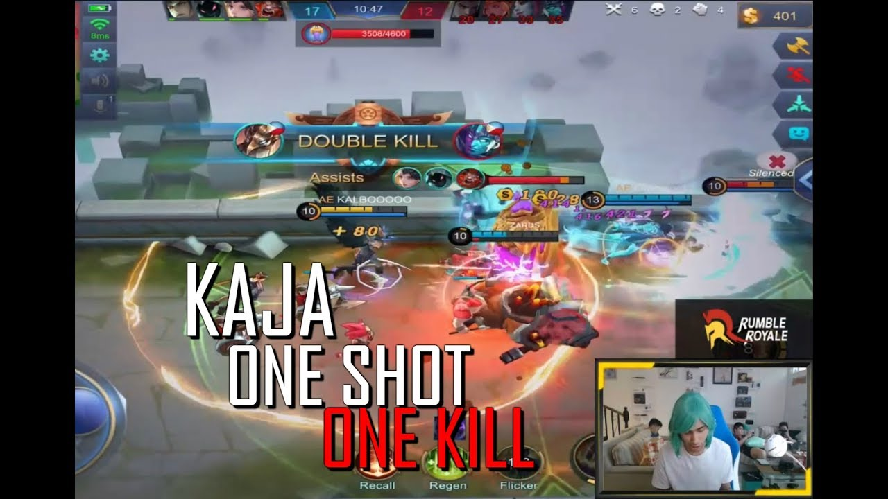KAJA ONE SHOT ONE KILL - 1000 MOBILE LEGENDS - NEW META - GAMEPLAY - RANK - TOP GLOBAL