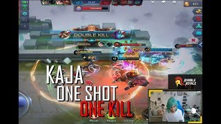 KAJA ONE SHOT ONE KILL - 1000 MOBILE LEGENDS - NEW META - GAMEPLAY - RANK - TOP GLOBAL
