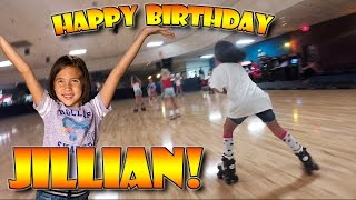 ROLLER SKATE BIRTHDAY!!! Jillian