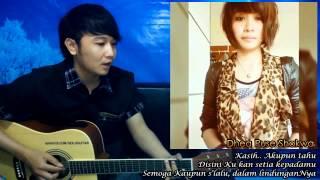 (Dhea Puse Shakwa) Setia Menanti - Nathan Fingerstyle & Dhea Puse Shakwa [Duet Indo & HK]