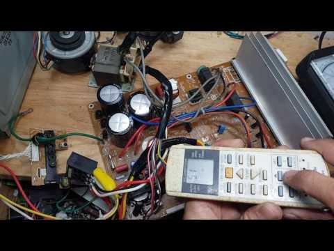 Lỗi H11 của Panasonic Inverter P 1, Dạy sửa board máy lạnh,  dạy sửa board máy giặt