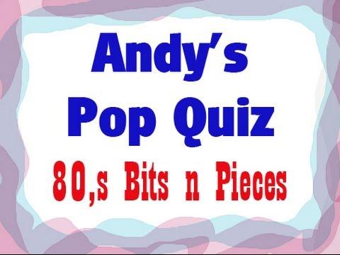 Pop Quiz No79 - 20 x 80s Songs.