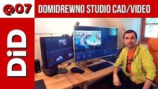 @07. Domidrewno studio CAD / Video - intro (zawód Youtuber PRO)
