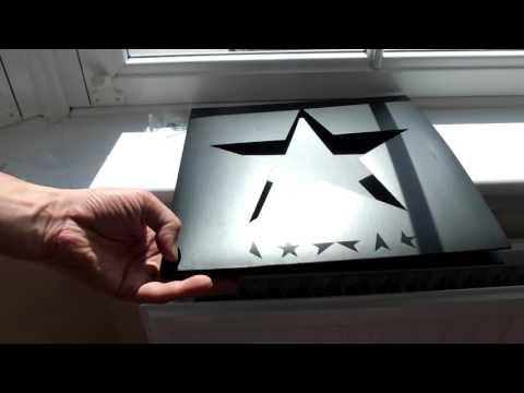 DAVID BOWIE Blackstar LP Easter Egg starfield secret image test pt.1