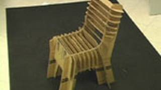 Crazy Cardboard Chair!