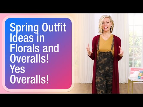 [VIDEO] - Spring outfit ideas in florals and overalls! Yes overalls! 1