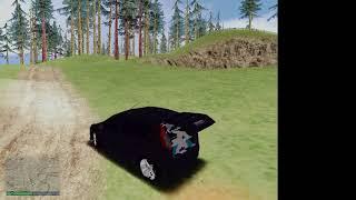 Gta San Andreas con carro ford fiesta
