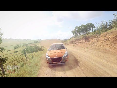 DiRT Rally 2.0 Good Delta Daily Challenge in the Peugeot 208 R2