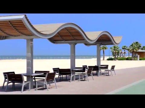 Jumeirah Beach i Dubai