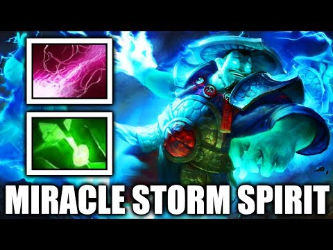 Zip Zap Like MIRACLE Pro Storm Spirit vs chinese Pub 7.06 META