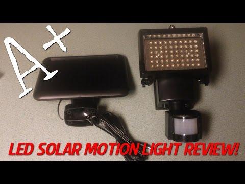 Led Solar Motion Light Harbor Freight Quick Insta