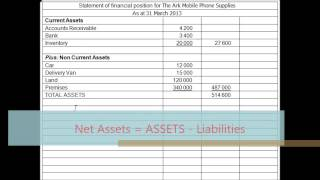 Statements of Financial Position