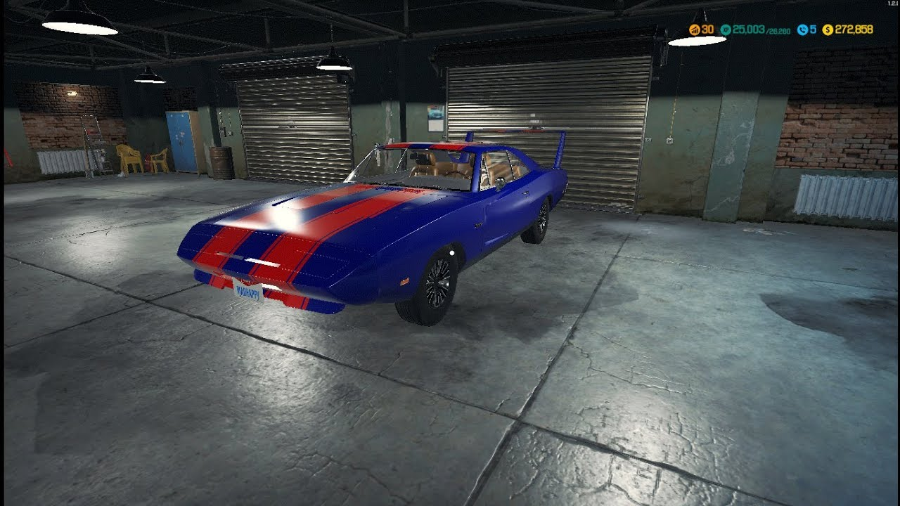 Car mechanic simulator 2018 lvl 30 at last paint shop is for Car paint simulator