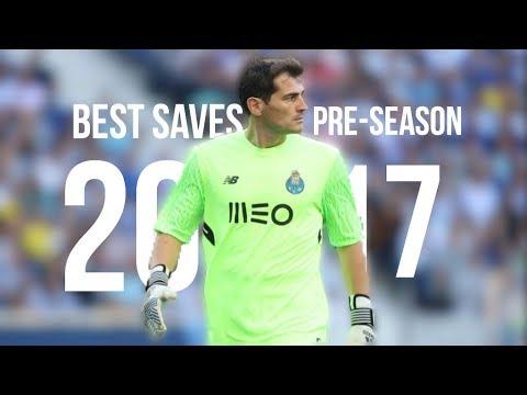 Iker Casillas - Best Saves 2017/18 - Pre-Season HD
