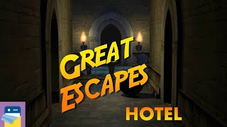 Great Escapes: Hotel Walkthrough & iOS / Android Gameplay (by Glitch Games)