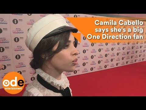 Camila Cabello says she's big a One Direction fan
