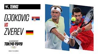 Djokovic vs Zverev | TENNIS Einzel Männer - Halbfinale Highlights | Olympische Spiele - Tokyo 2020