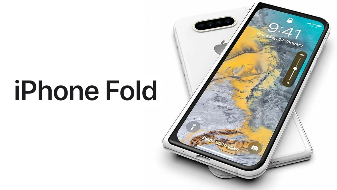 iPhone X Fold – ответ от Apple на Samsung Galaxy Z Fold 2 и Huawei Mate XS