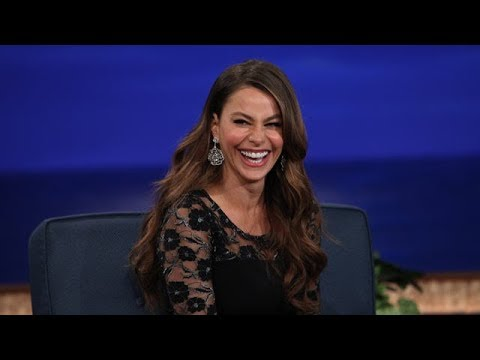 Sofia Vergara Interview Part 01 - Conan on TBS