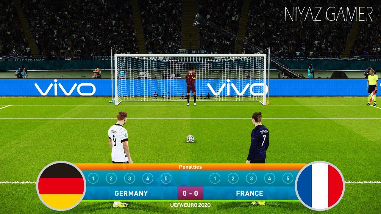 PES 2021   Germany vs France   Penalty Shootout   UEFA EURO 2020   PES 2022 Mod