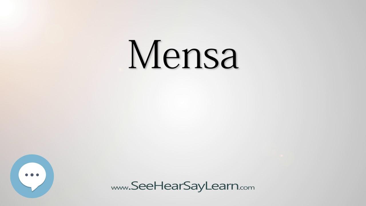 mensa constellations pronounced youtube