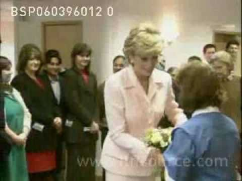 Princess Diana's 1st outing since divorce