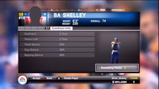 Madden 11 NFL Superstar Mode   Creating A MVP QB
