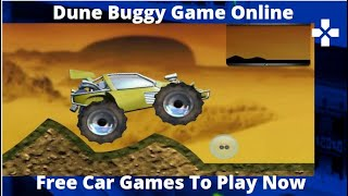 Dune Buggy Game Online -  Free Car Games  - Car Game For Children To Play